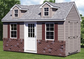 ramps weather vanes and a plethora of different styles of windows and doors can be added to complete the design of your new storage shed