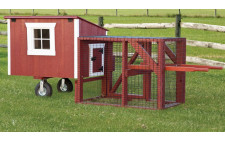 3'x4' Lean-To Tractor Chicken House