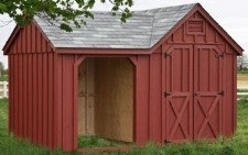 Combo Wood Shed