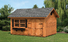 12x28 cedar gable a frame style shed capitol sheds for 12x28 shed