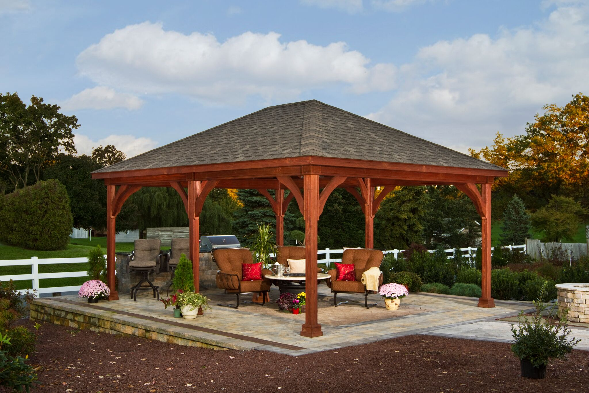16x20woodpavilion.html-448-16'x20 Traditional Wood Pavilion - Canyon Brown Stain - Asphalt Shingles_preview.jpeg