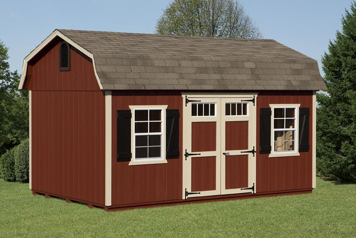 10x16 barn style shed capitol sheds for Barn style storage building plans