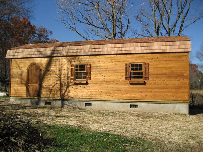 12x36 Barn Style Shed Capitol Sheds