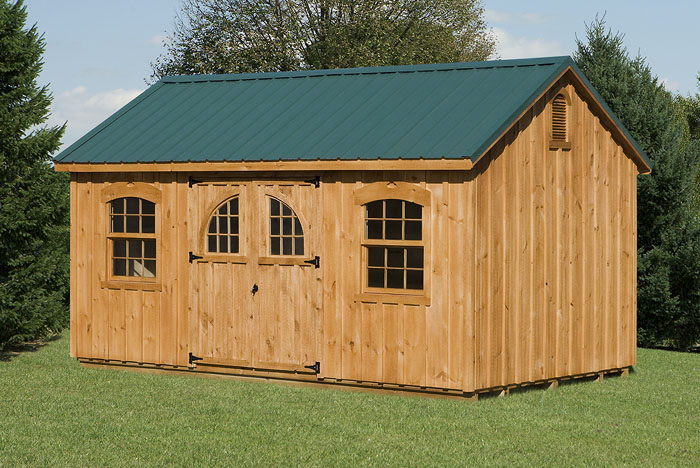 10x16 Gable Style Shed Capitol Sheds