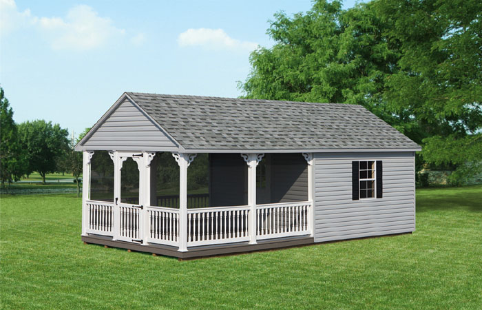 12x24 vinyl gable style shed two capitol sheds for Gable style shed