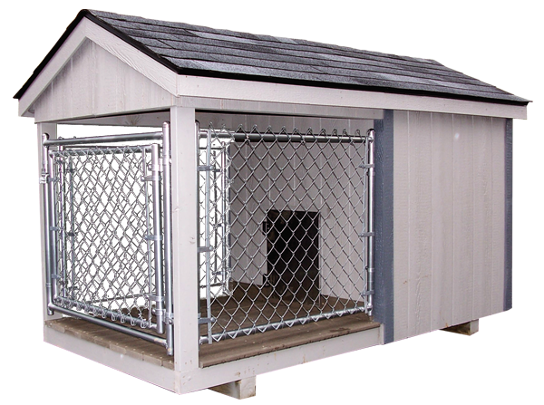 4x8 k9 kastle jr capitol sheds for Dog kennel greenhouse