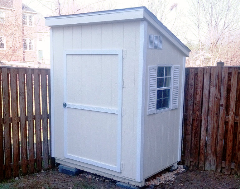 4x6 Lean To Shed Capitol Sheds