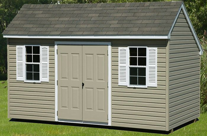 8x14 vinyl saltbox capitol sheds for Saltbox storage shed